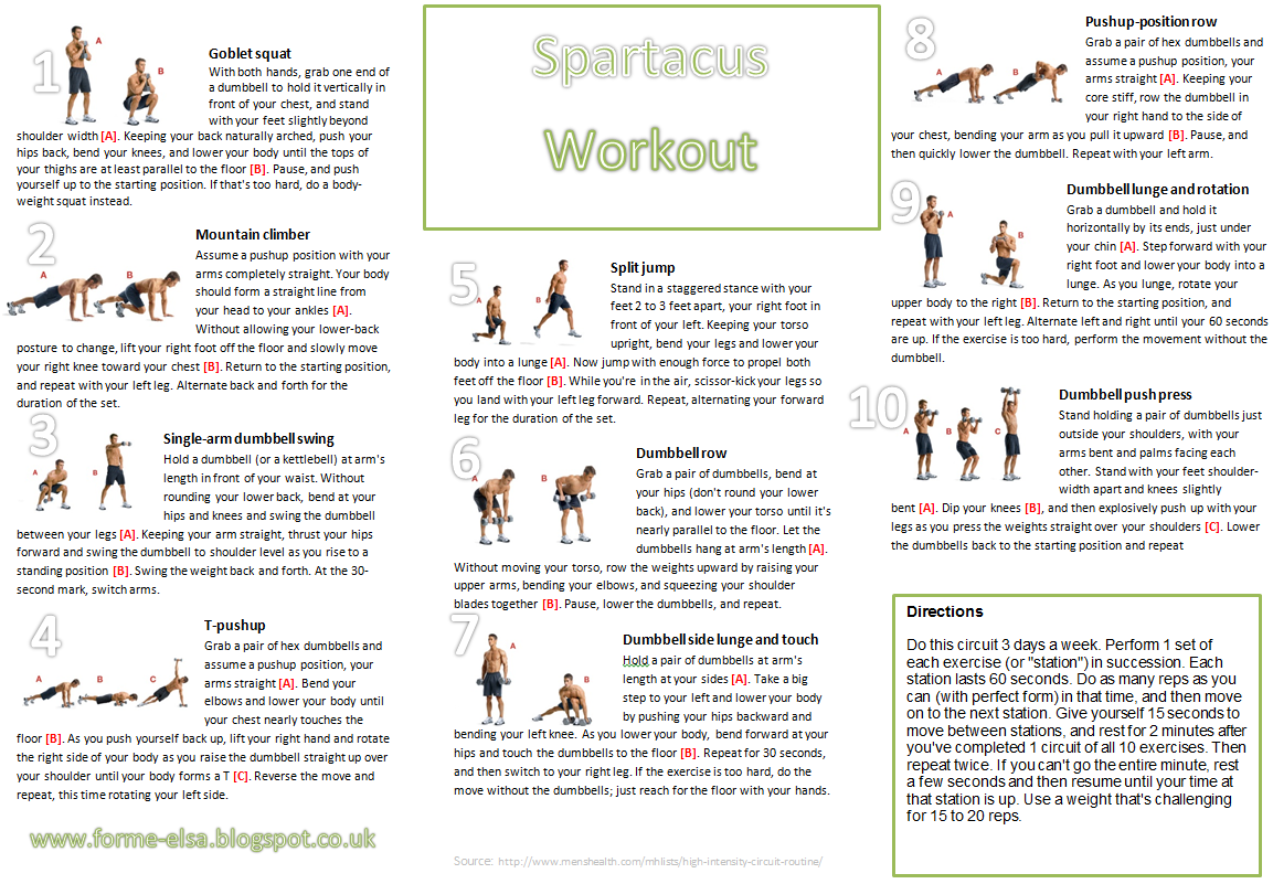 Agile image with regard to spartacus workout printable