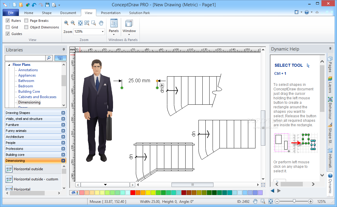 ConceptDraw Pro free version download for PC