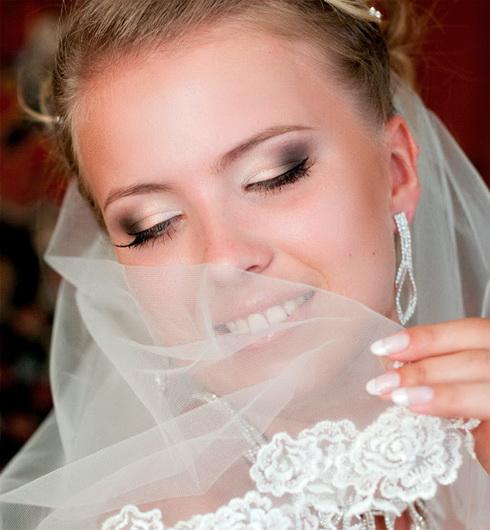 Фото макияжа свадебного для зеленых глаз