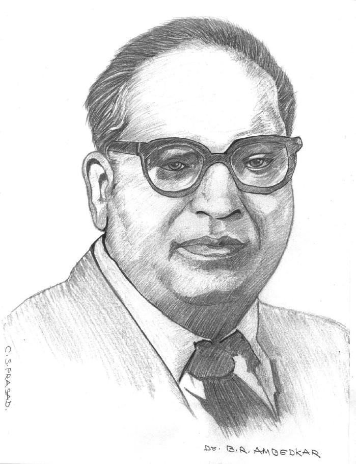 Babasaheb ambedkar painting