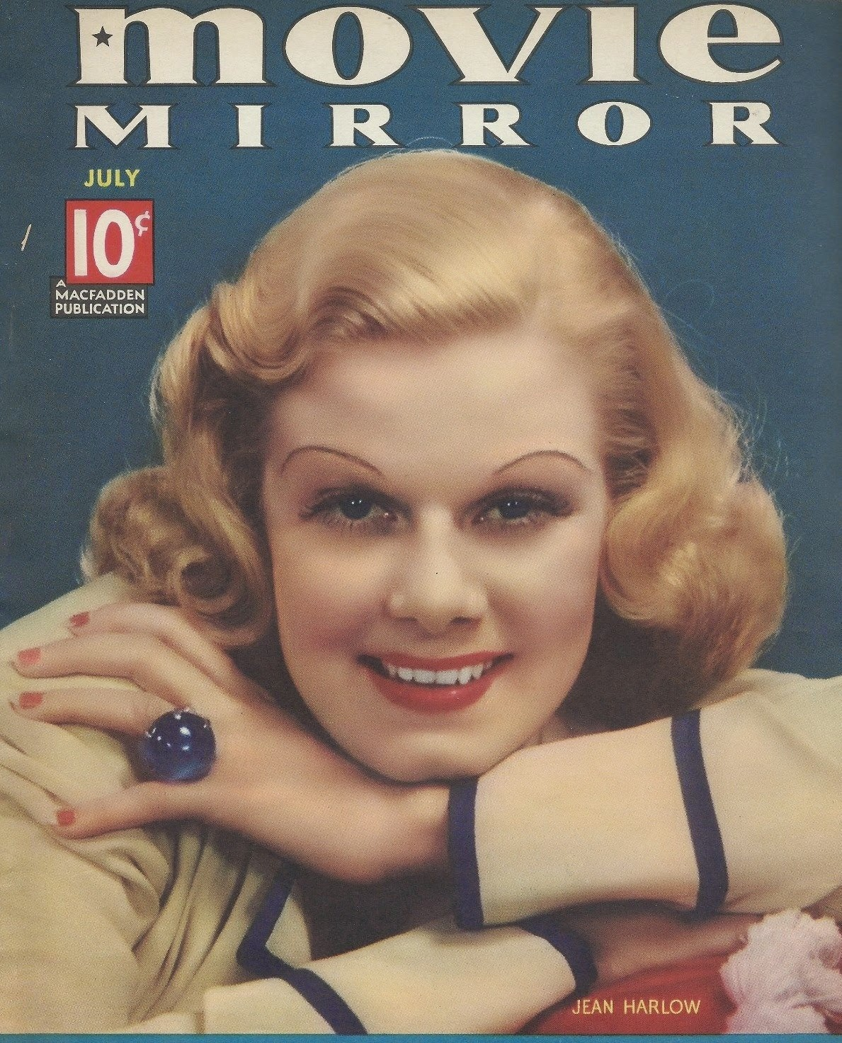 Imaginemdd william powell and jean harlow the sapphire ring for Mirror 1 movie