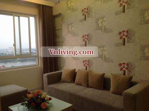 Riverside apartment for lease in District 2 , Ho Chi Minh city