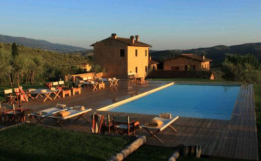 Übernachten im Weingut nahe Florenz
