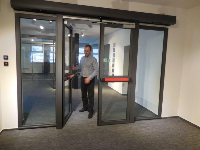 Automatic Fire Doors : The door industry journal tate solutions introduces a