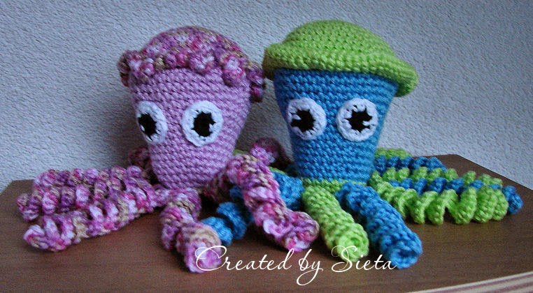 Mijn eerste inktvisjes voor de couveuse kindjes