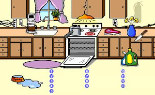 Kitchen safety cartoon pictures the best cart for 5 kitchen safety hazards