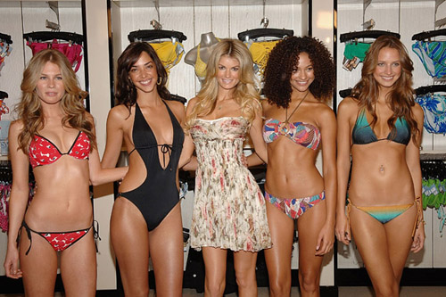 Victoria's Secret models, an ambitious and worthy goal. :-)