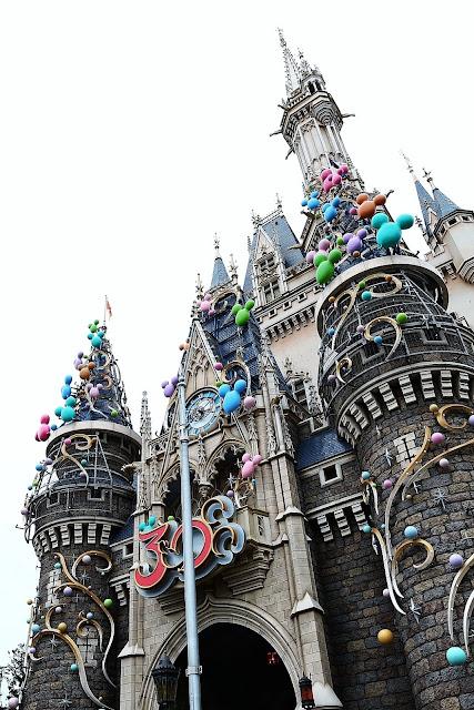 東京ディズニーランド「シンデレラ城 30周年デコレーション」撮影方法(機材と設定)