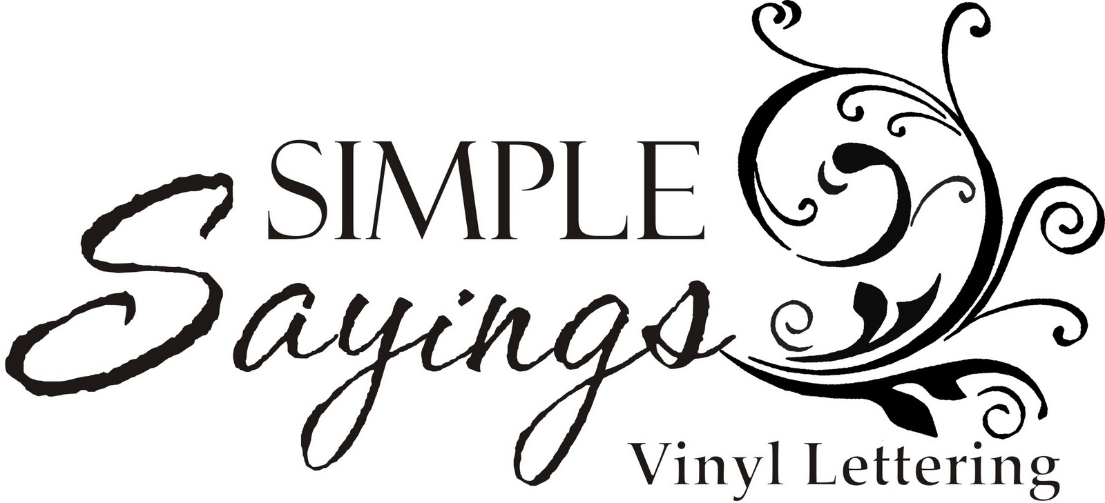love getting my vinyl from Simple Sayings Vinyl Lettering. One of my ...