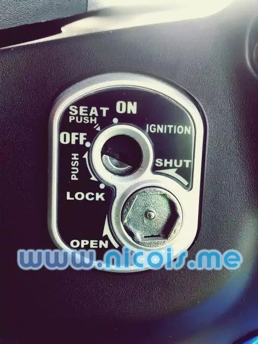 Auto secure key shutter New Supra X 125 FI 2014