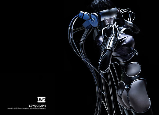 Ghost in the shell por LEWOGRAPH