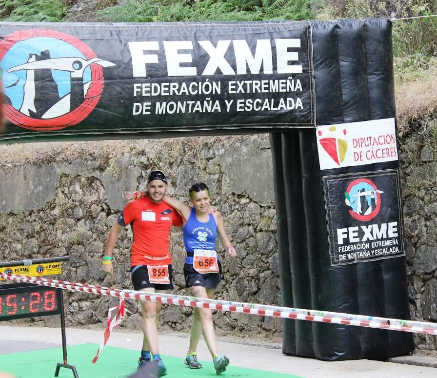 """Ismael y Yulema en la """"VIII CARRERA PENCONA Y MINI PENCONA"""""""