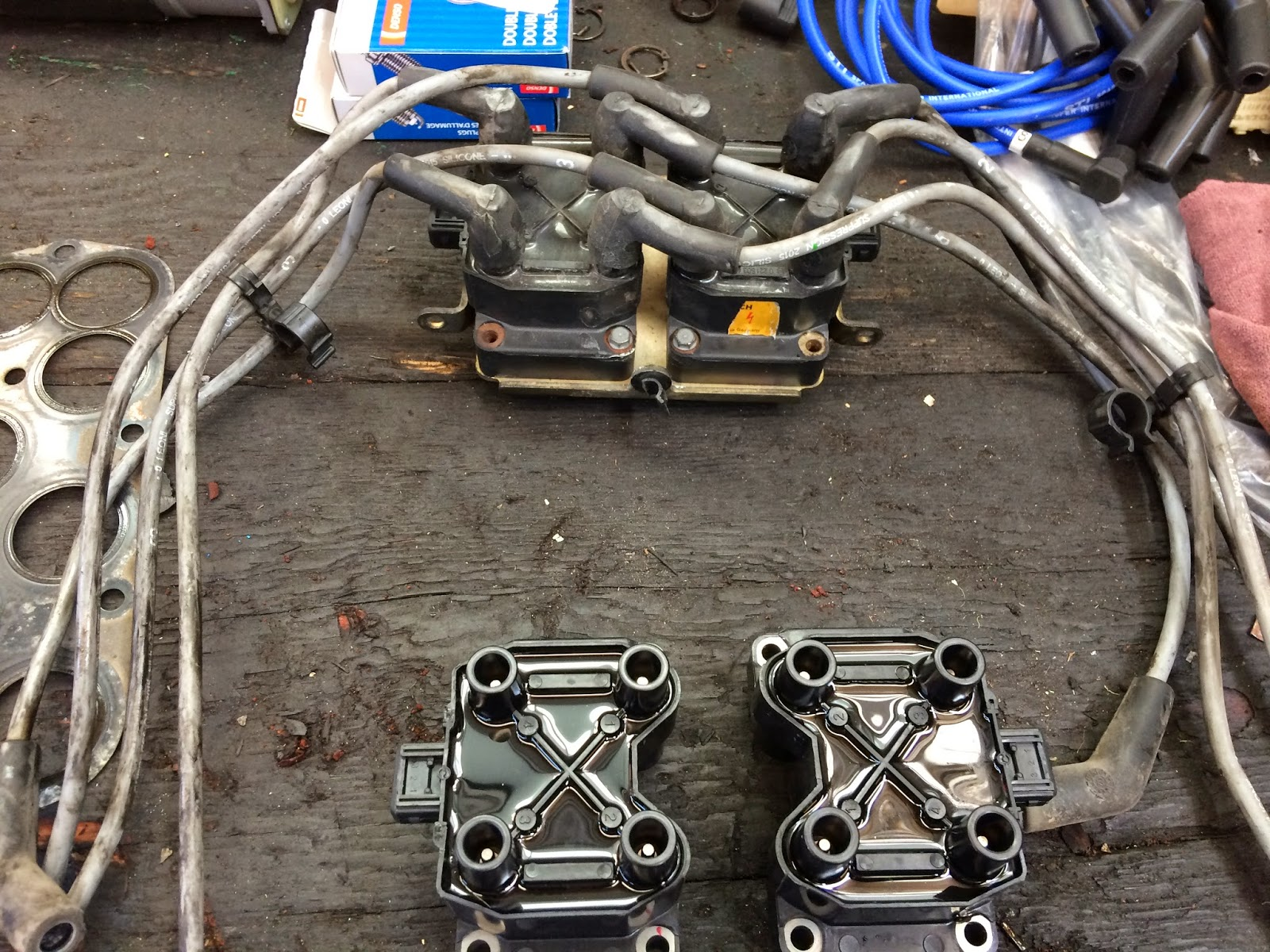Land Rover Discovery Spark Plug Wires Replacement Ignition Wiring Help 2 Coils And