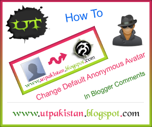 How To Change Default Anonymous Avatar In Blogger Comments?