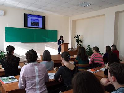 Відкрита лекція англійською мовою.