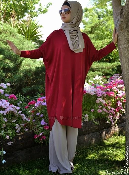 Henna Elisa 2014/2015 Sonbahar Kış Tesettür Tunik Modelleri