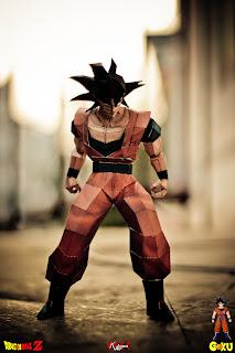 Papercraft Goku