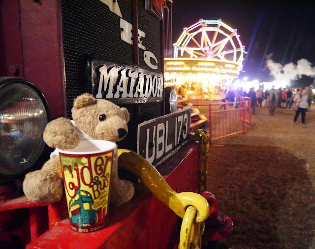 A Bear at Great Dorset Steam Fair
