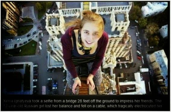 Selfie Terakhir Mereka Sebelum Mati (9 Gambar)