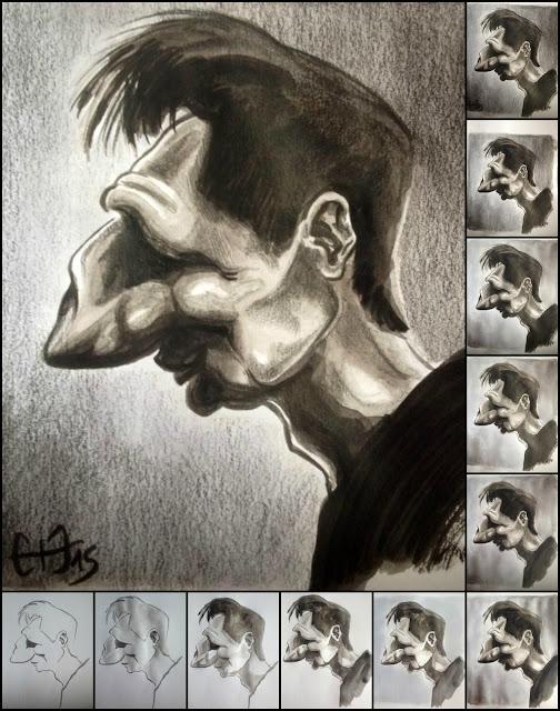 Caricature Liam Neeson - Guillaume Néel ©