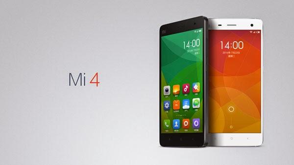 Inilah Ponsel Tercepad di Dunia Xiaomi Mi 4