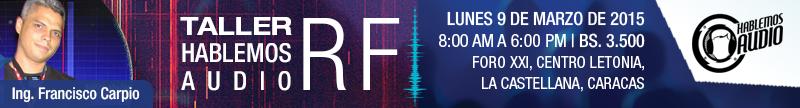 Taller Hablemos Audio RF