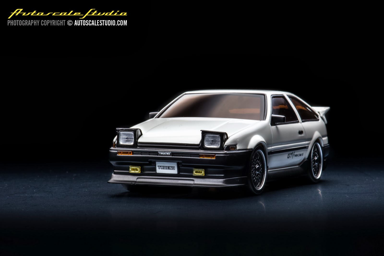 Toyota 86 Livery >> MZP410W Toyota Sprinter Trueno AE86 Aero version white | autoscale studio オートスケール・スタジオ