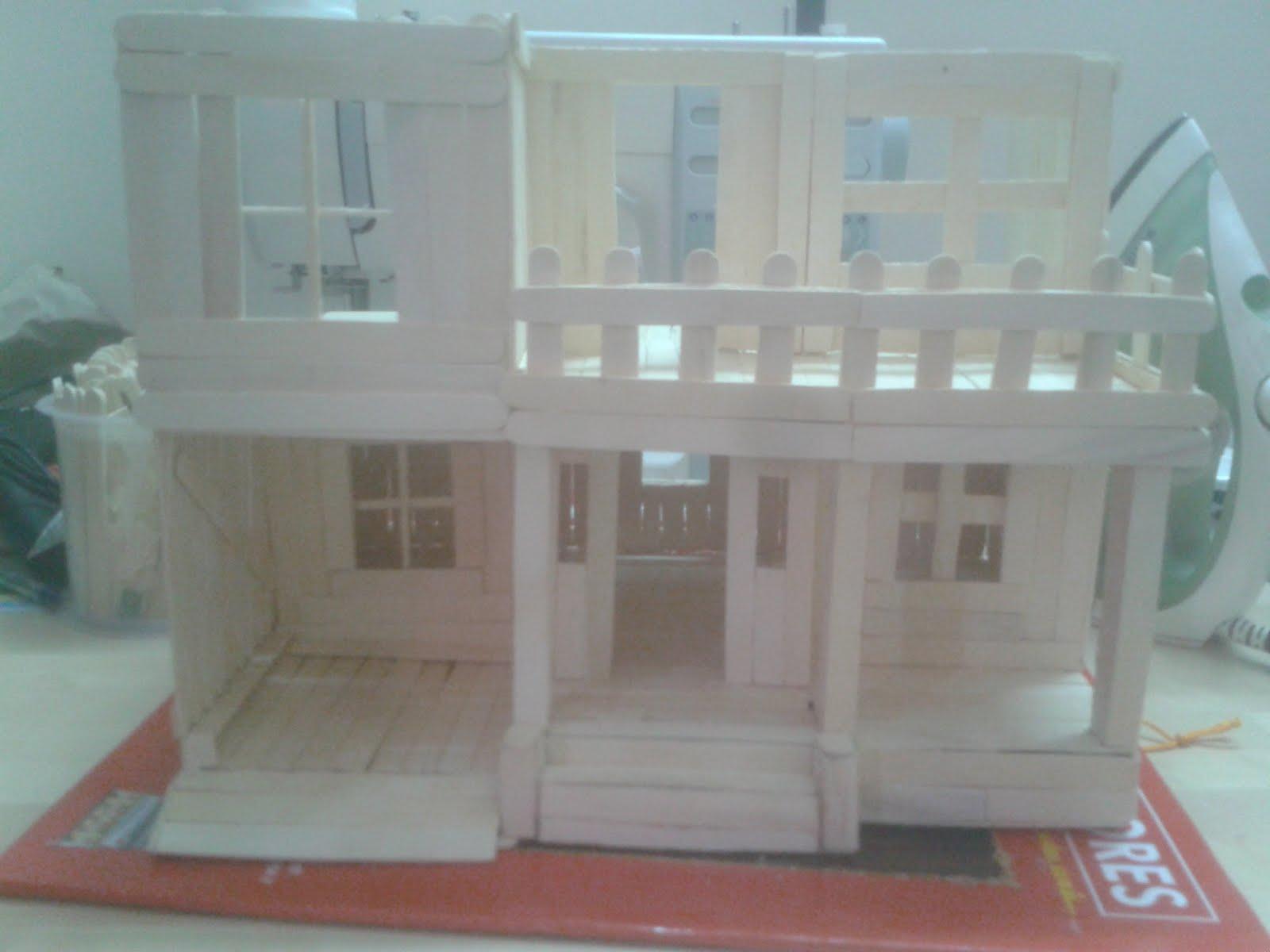 Build a cardboard house school project