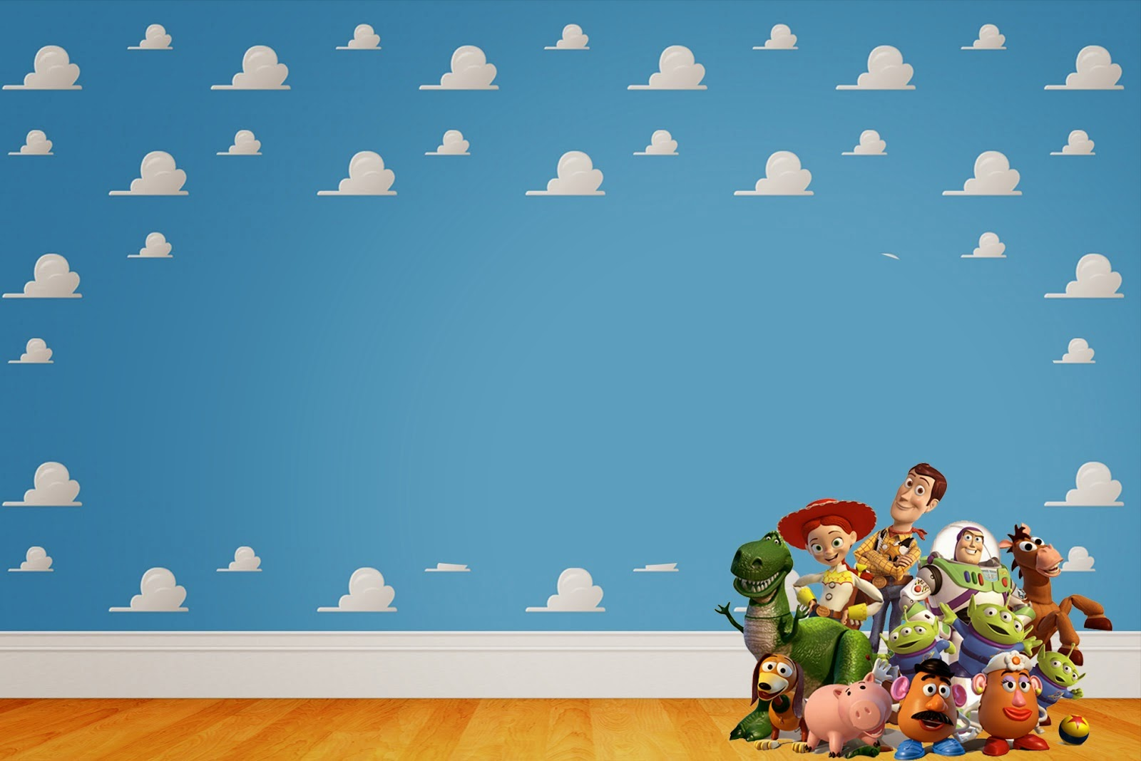 Ideal Toy Story Free Printable Invitations Labels or Cards