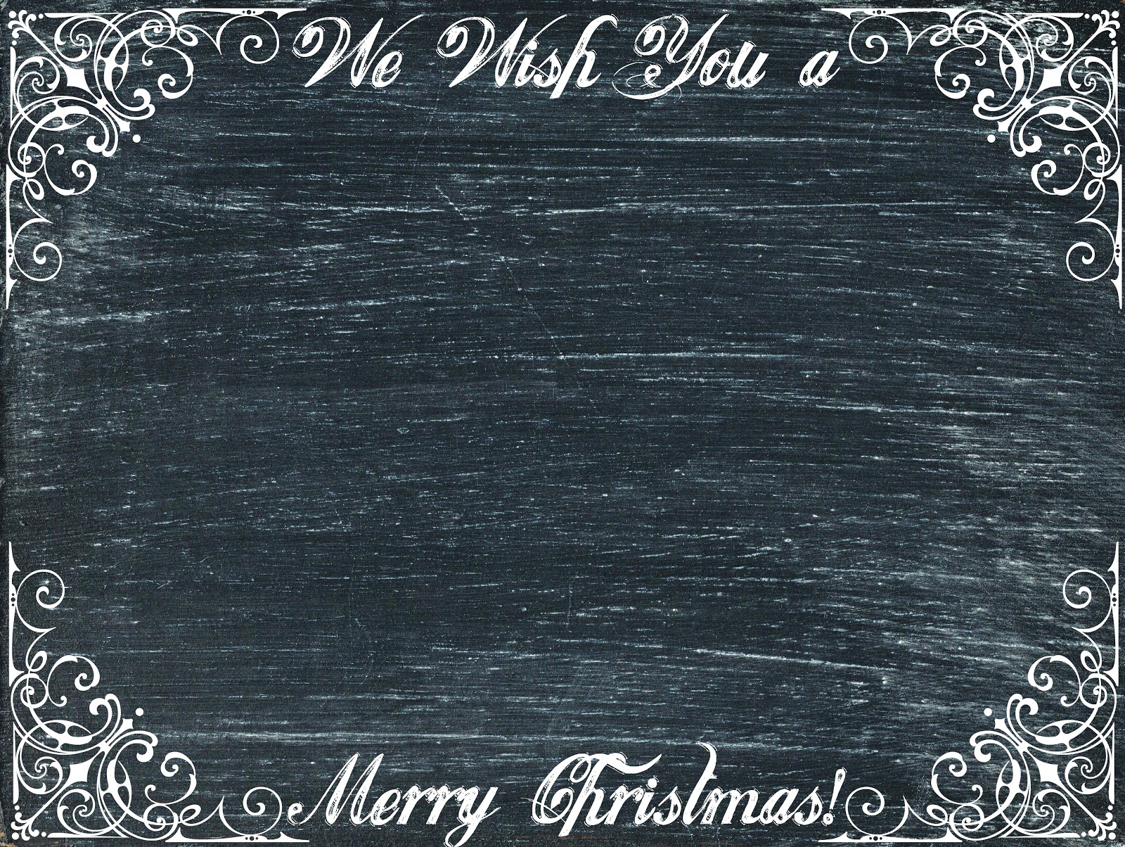 Chalkboard Christmas Cards & Tags {printables} - Knick of Time