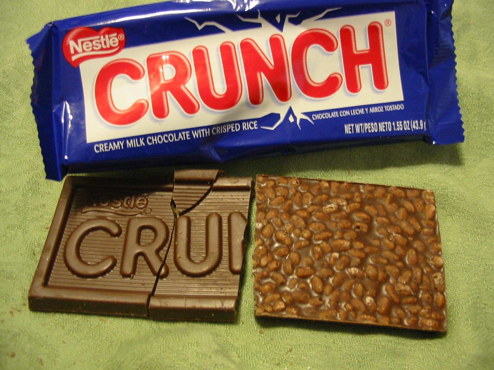 Nestle Crunch Candy Bar Candy bars, crunch,