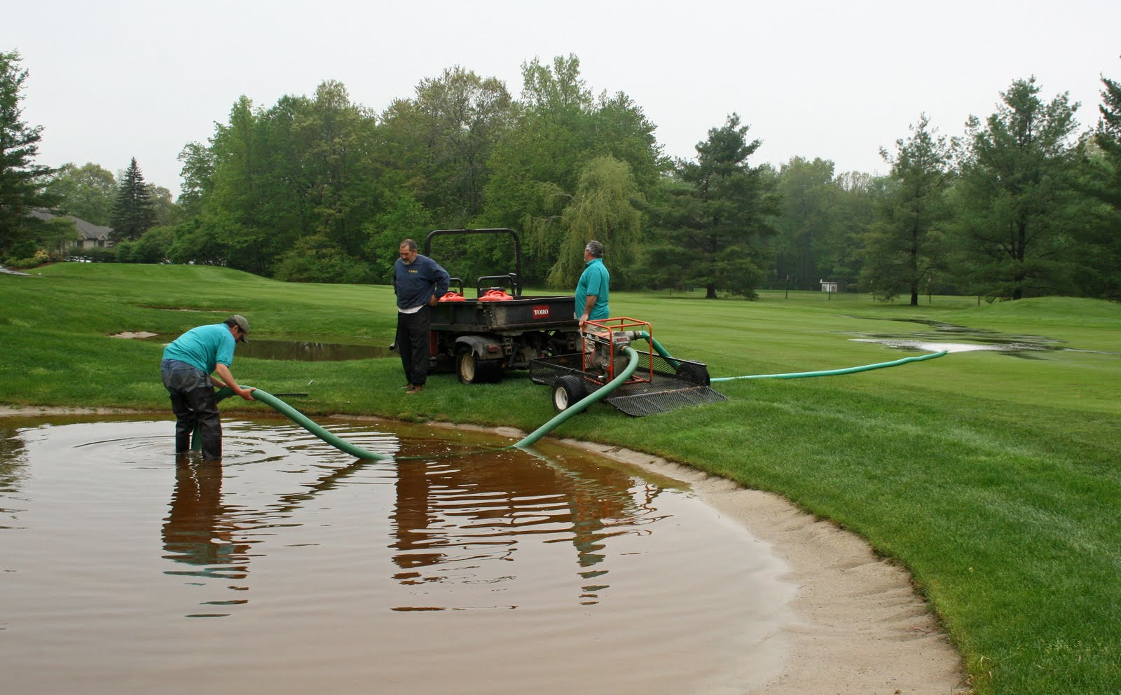 The farms country club s golf course superintendent paul