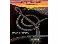 "PROGRAMA:""AUTOPISTA MUSICAL""(CON PACO PAEZ)"