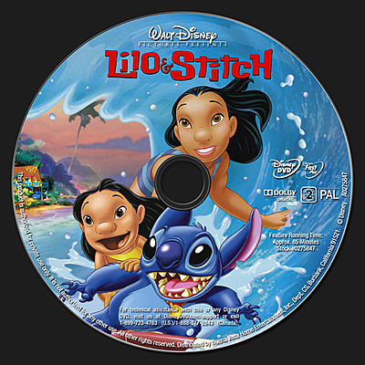 DVD Lilo & Stich 2002 animatedfilmreviews.filminspector.com