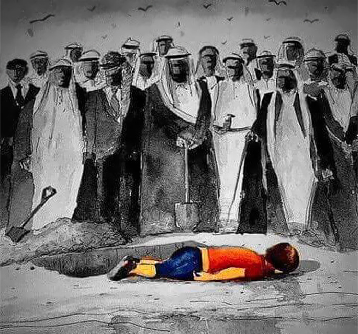 Artists Around The World Respond To Tragic Death Of 3-Year-Old Syrian Refugee - The Leaders Watching