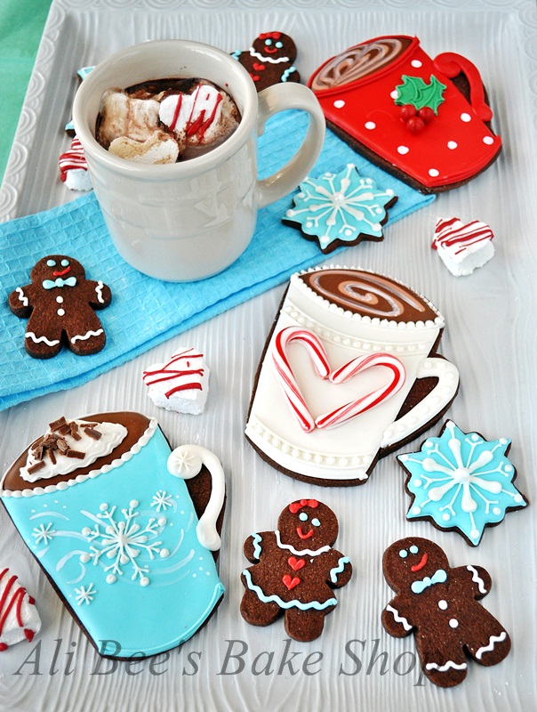 Ali Bee S Bake Shop Christmas Card Inspiration Hot Cocoa