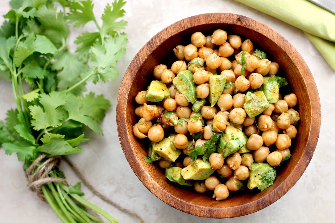 ... . Giveaways.: Chickpea Avocado Salad with Lime and Chilli Dressing