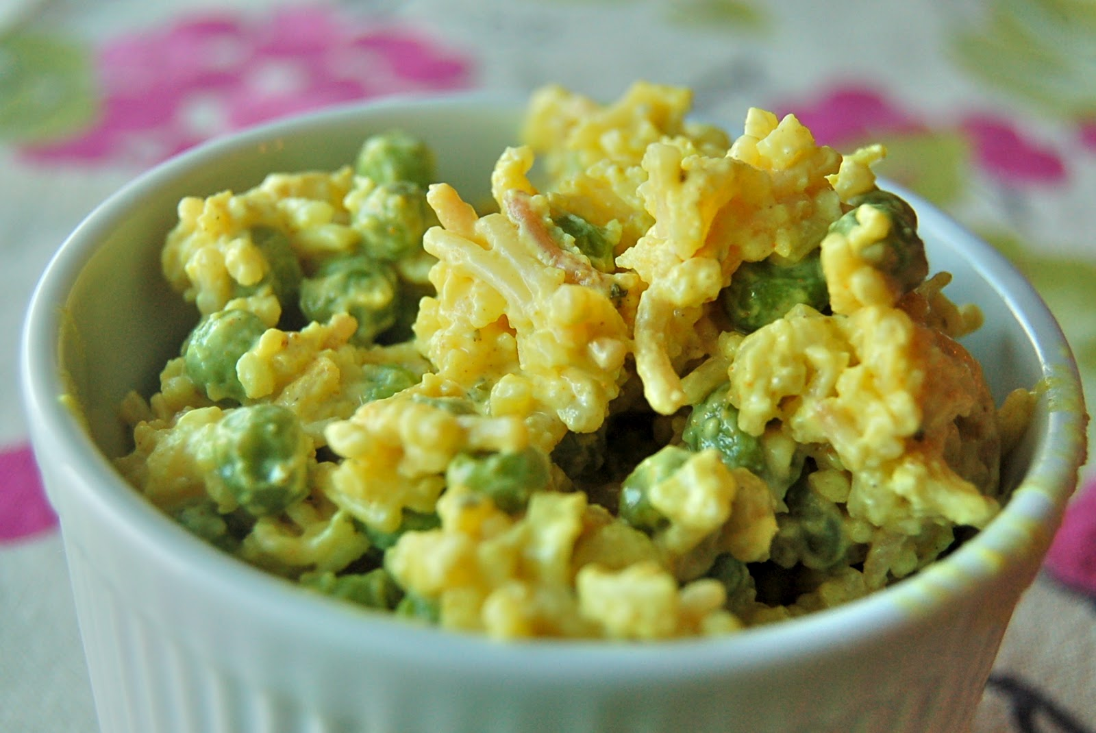 The Hungry Alaskan: Curried Rice and Pea Salad