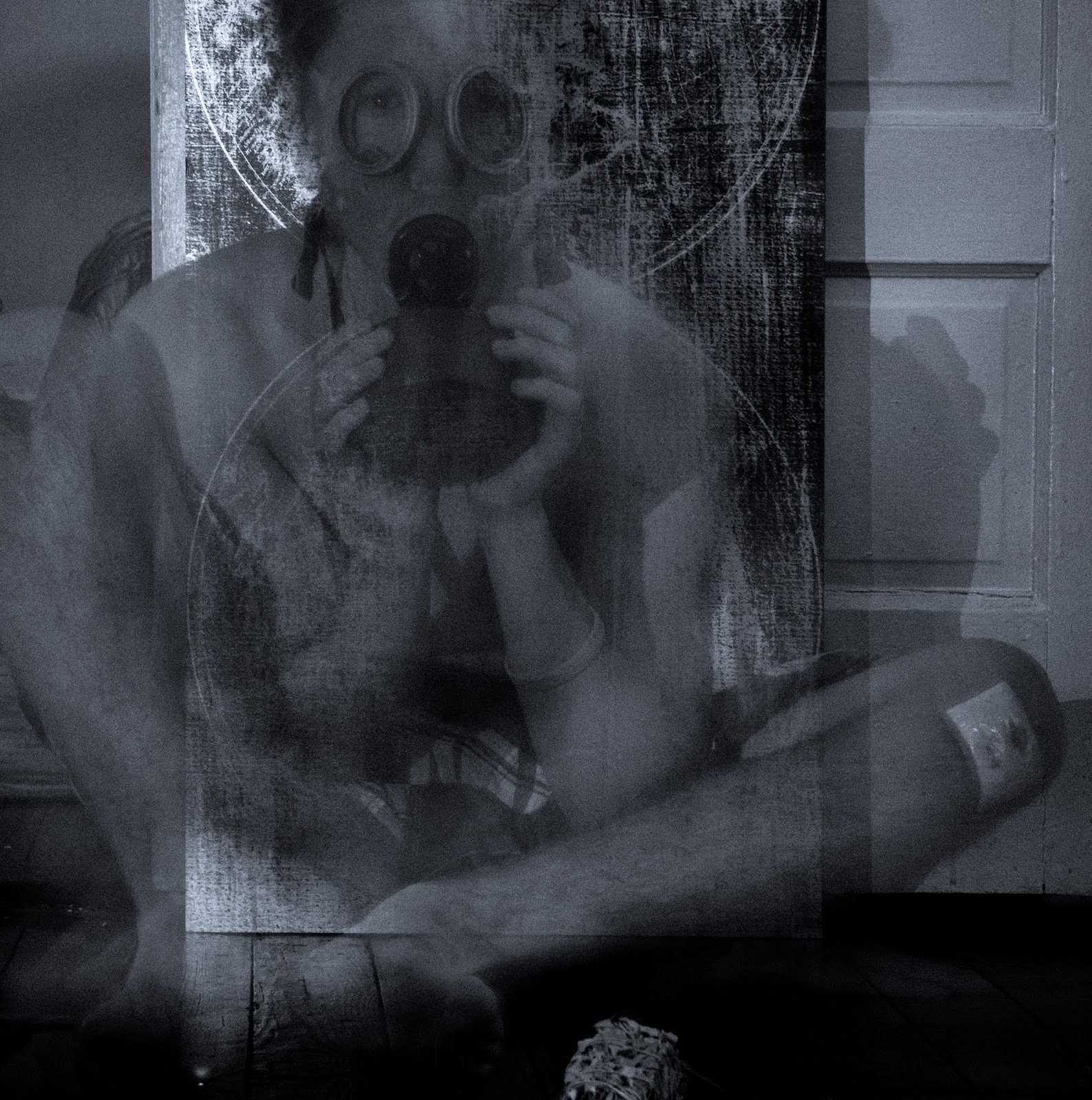 Jacob Diehn Photography: 1960's Gas Mask Ghost Incident