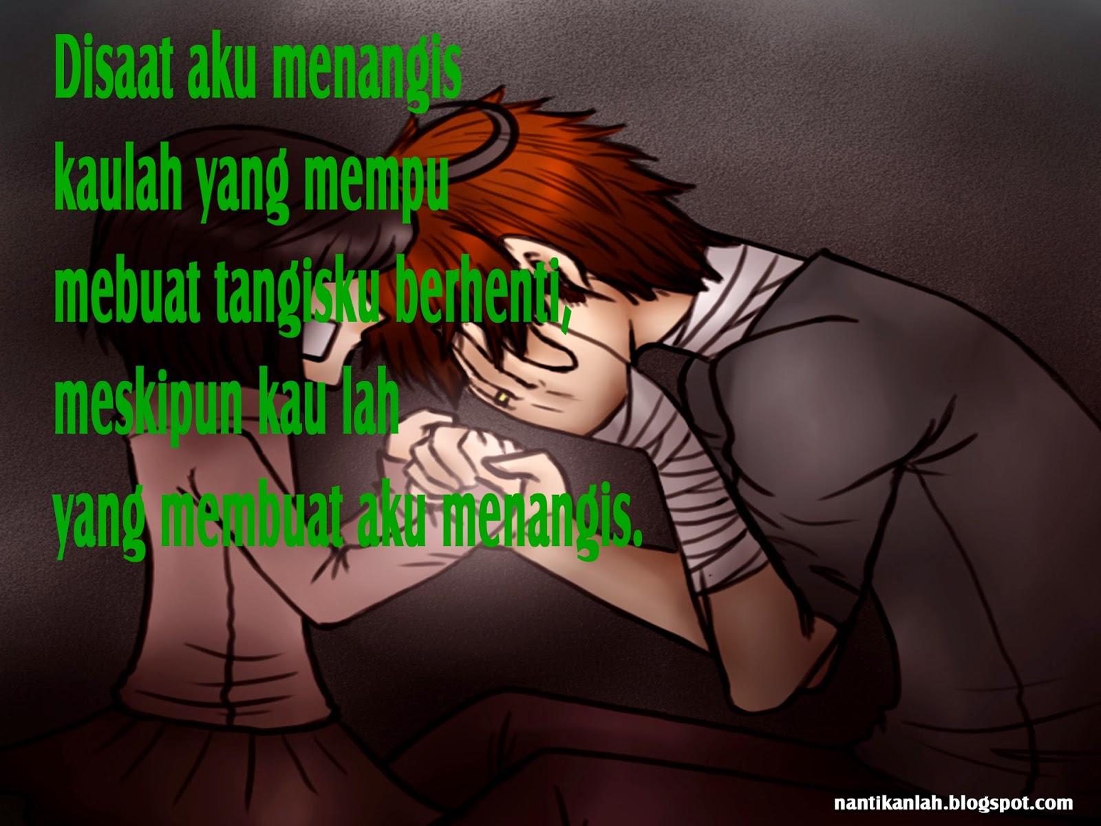Wallpaper Gambar Kartun Galau   Gudang Wallpaper
