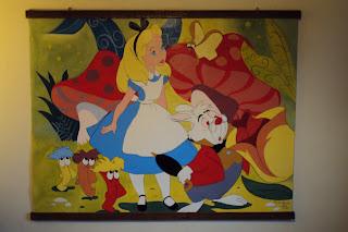 Alice in Wonderland  (160cm x 120cm)