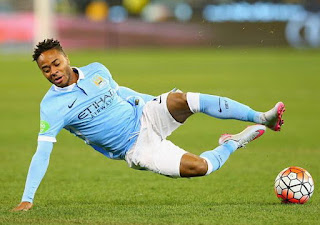 Raheem Sterling Player World Manchester City