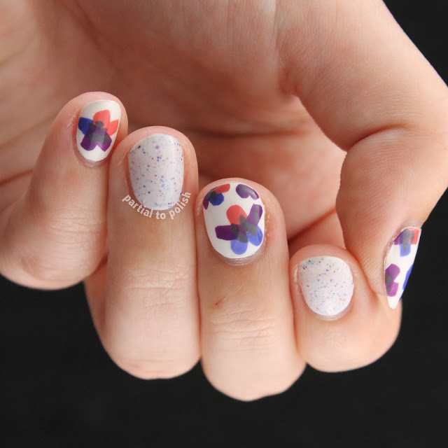 Another MrCandiipants Spring Floral Featuring Renaissance Cosmetics Tiny Petals Everywhere