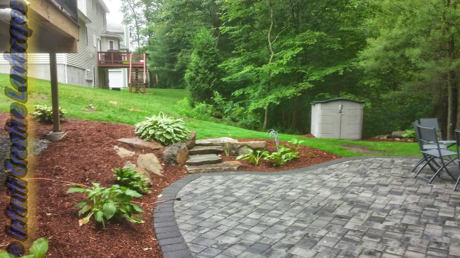 Infiniti properties creative landscape design recent for Landscape design jobs