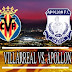 Ver Villarreal vs Apollon En Vivo Online Gratis 02-10-2014