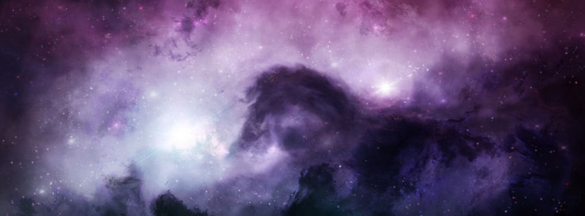 Illuminatingthe dark universe facebook cover