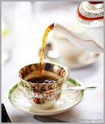Un tè di benvenuto