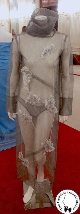 30 anni Galleria del Costume - Antonio Marras, rete in tulle sintetico, AI 1998/99, dono Gianfranco Grimaldi