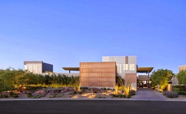 Sustainable Desert Home Design- J2 Residence