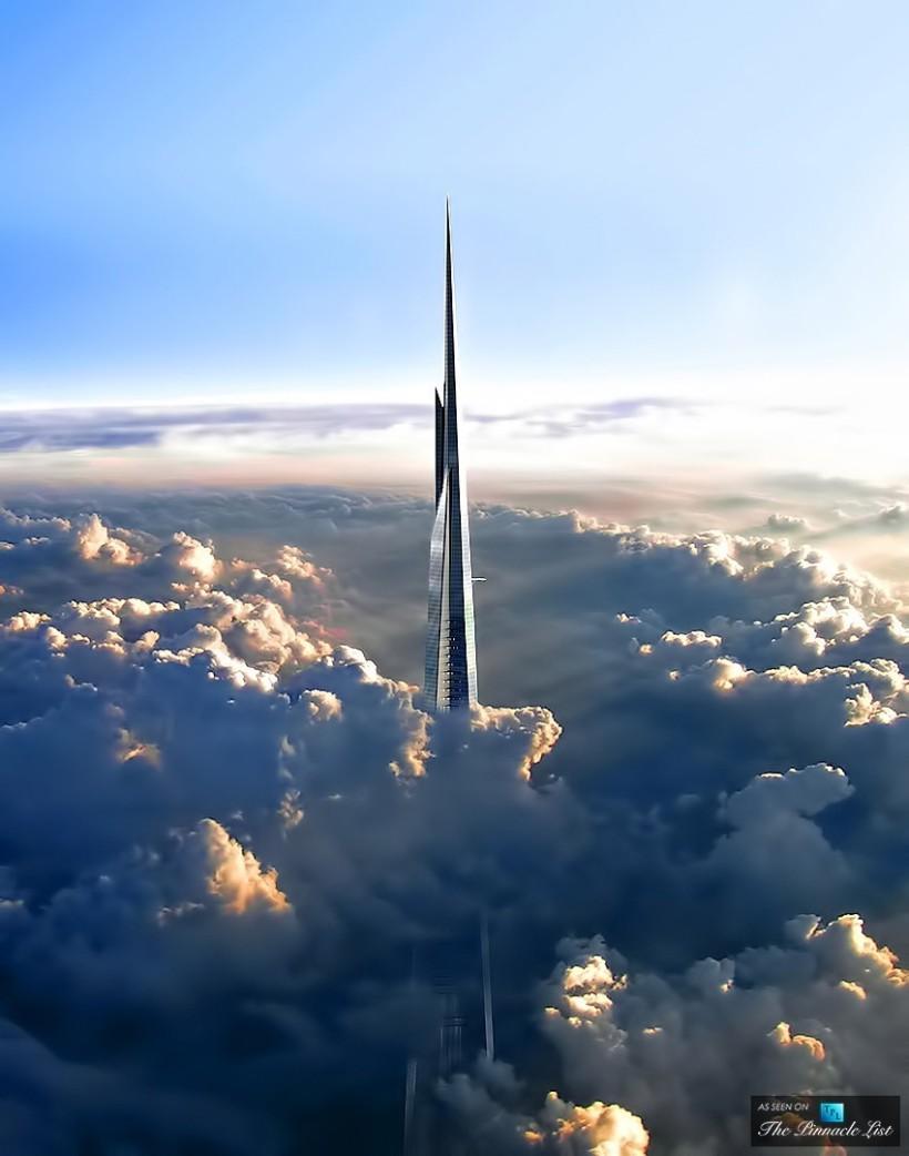 Kingdom Tower in Jeddah, Saudi Arabia